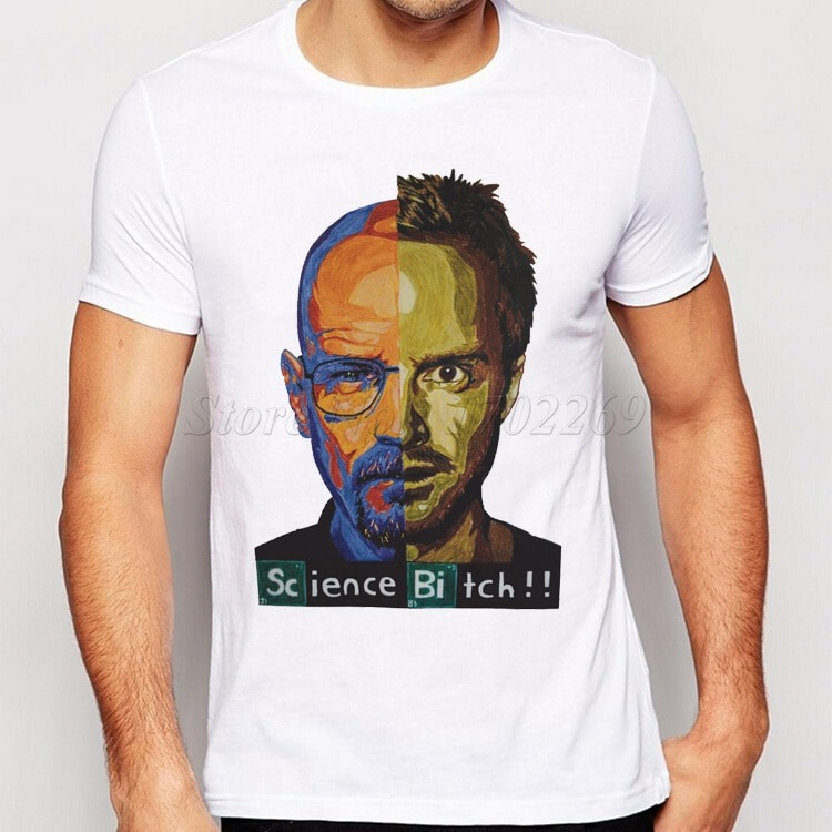 Camiseta Streetwear Breaking Bad Retro 2.0 2