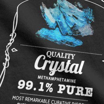 Camiseta Heisenberg Azul 99.1% Puro 5