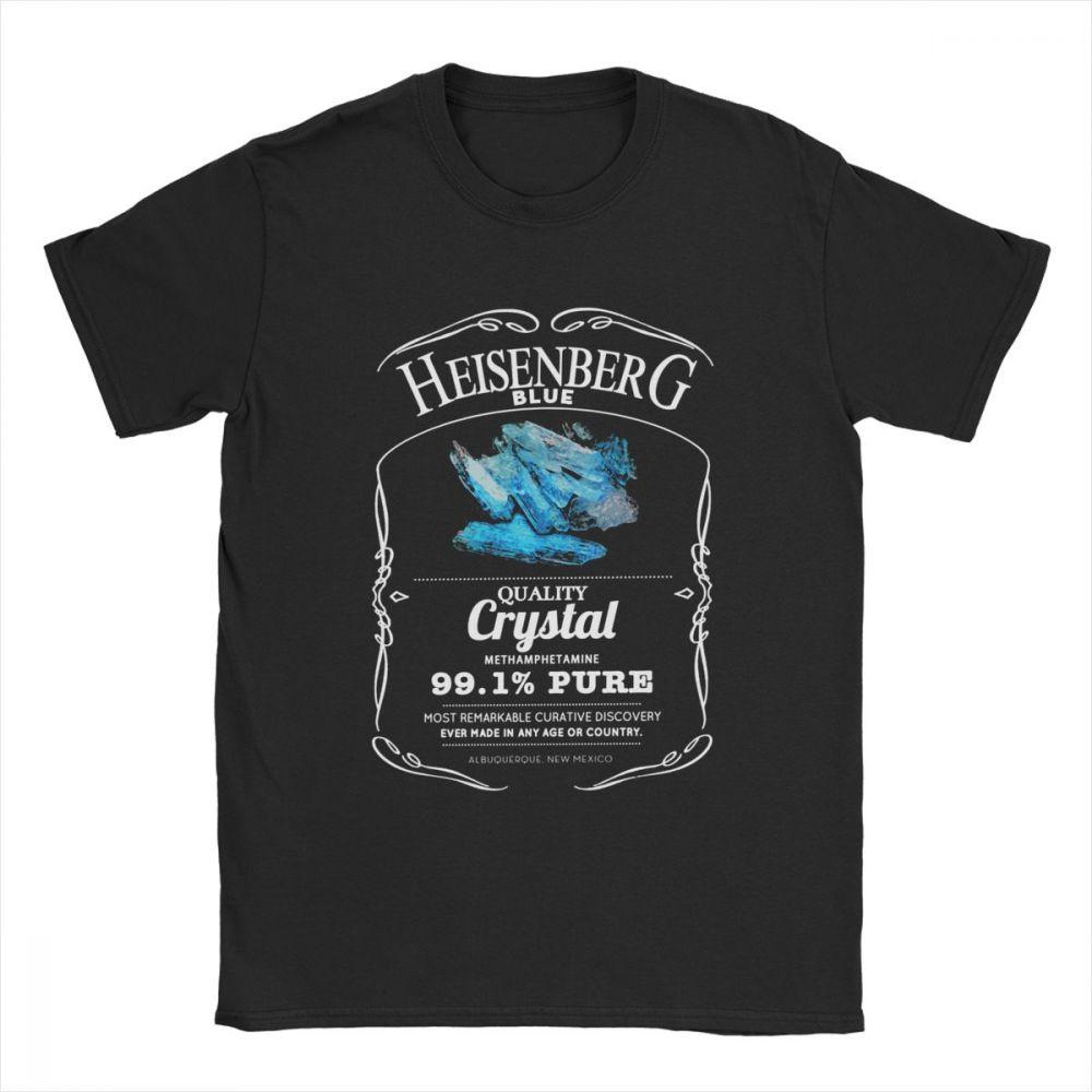 Camiseta Heisenberg Azul 99.1% Puro 1