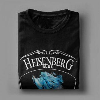 Camiseta Heisenberg Azul 99.1% Puro 6