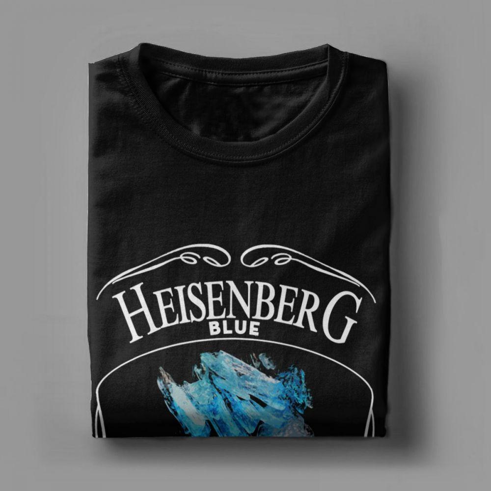 Camiseta Heisenberg Azul 99.1% Puro 3