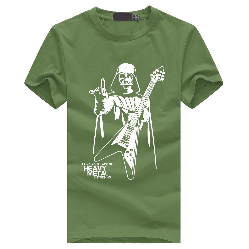 Darth Vader Heavy Metal T-Shirt diseño 2020 4