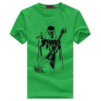 Darth Vader Heavy Metal T-Shirt diseño 2020 10