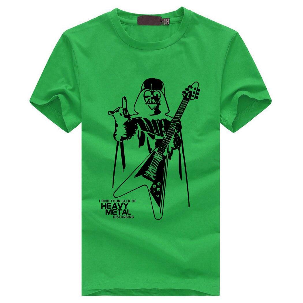 Darth Vader Heavy Metal T-Shirt diseño 2020 5
