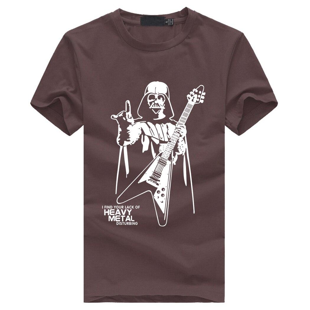 Darth Vader Heavy Metal T-Shirt diseño 2020 3