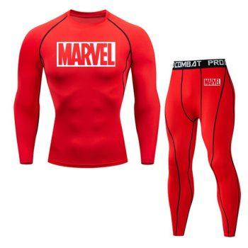 Tracksuit Marvel Compresión Jogging Running 2020 9