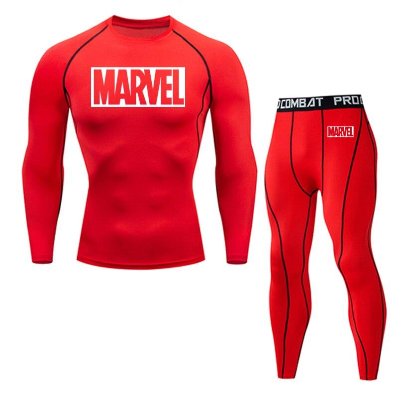 Tracksuit Marvel Compresión Jogging Running 2020 3