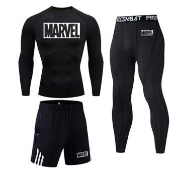 Tracksuit Marvel Compresión Jogging Running 2020 10