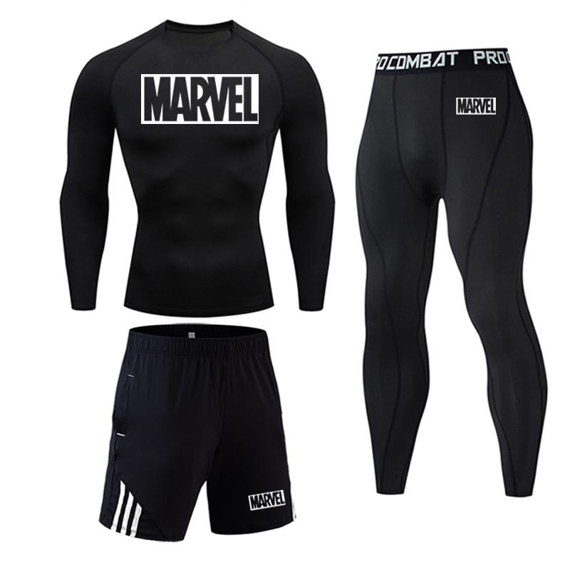 Tracksuit Marvel Compresión Jogging Running 2020 4
