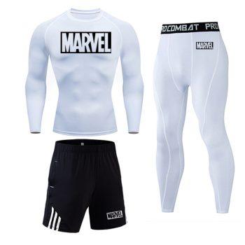 Tracksuit Marvel Compresión Jogging Running 2020 11