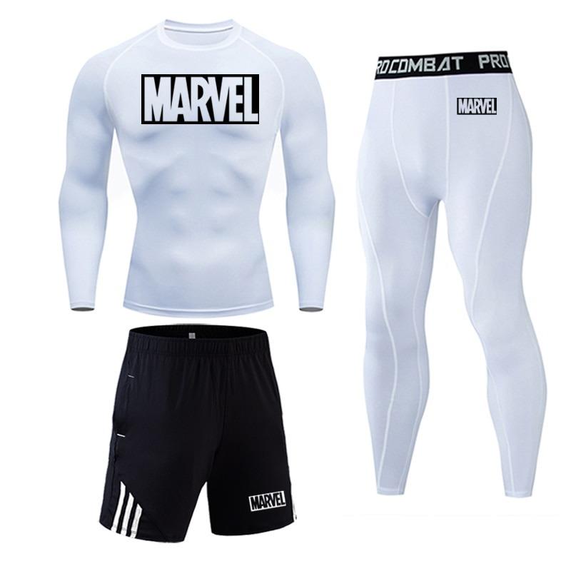 Tracksuit Marvel Compresión Jogging Running 2020 5