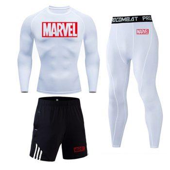 Tracksuit Marvel Compresión Jogging Running 2020 8
