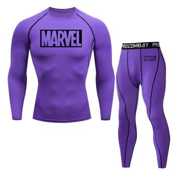Tracksuit Marvel Compresión Jogging Running 2020 14