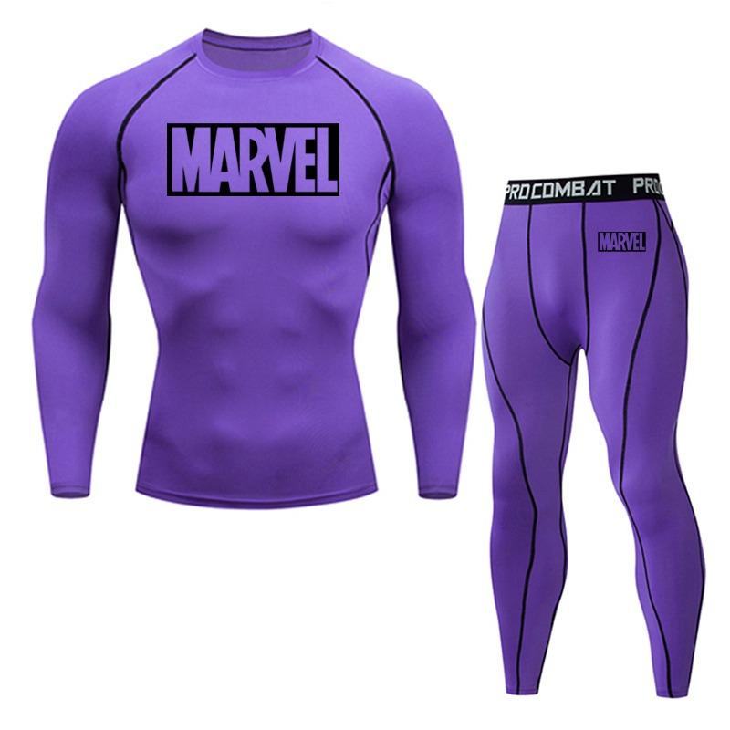 Tracksuit Marvel Compresión Jogging Running 2020 7