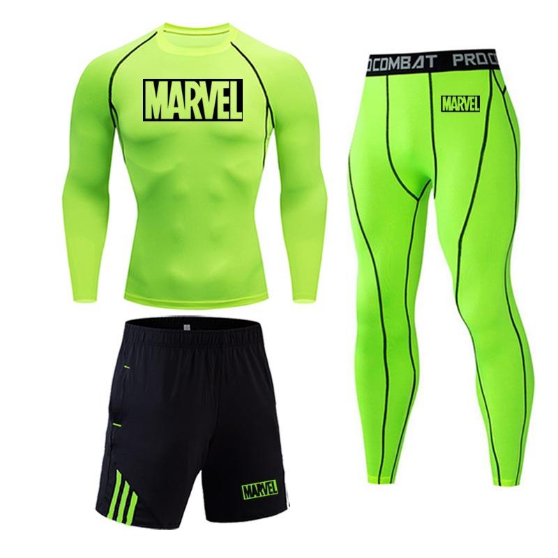 Tracksuit Marvel Compresión Jogging Running 2020 1