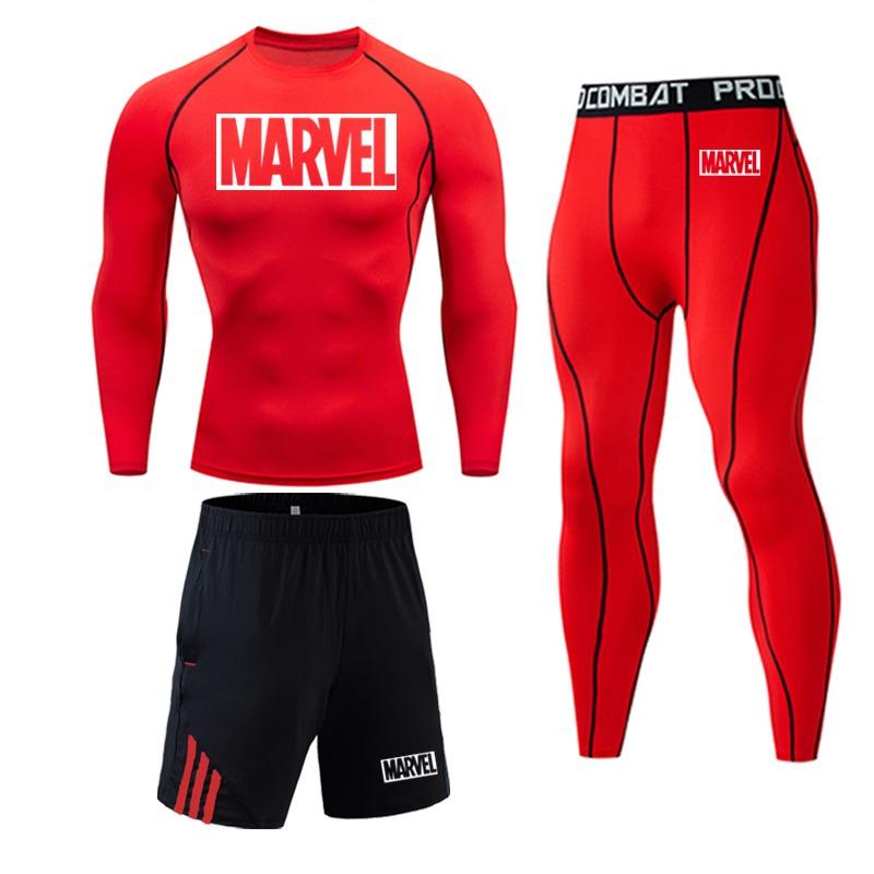 Tracksuit Marvel Compresión Jogging Running 2020 6