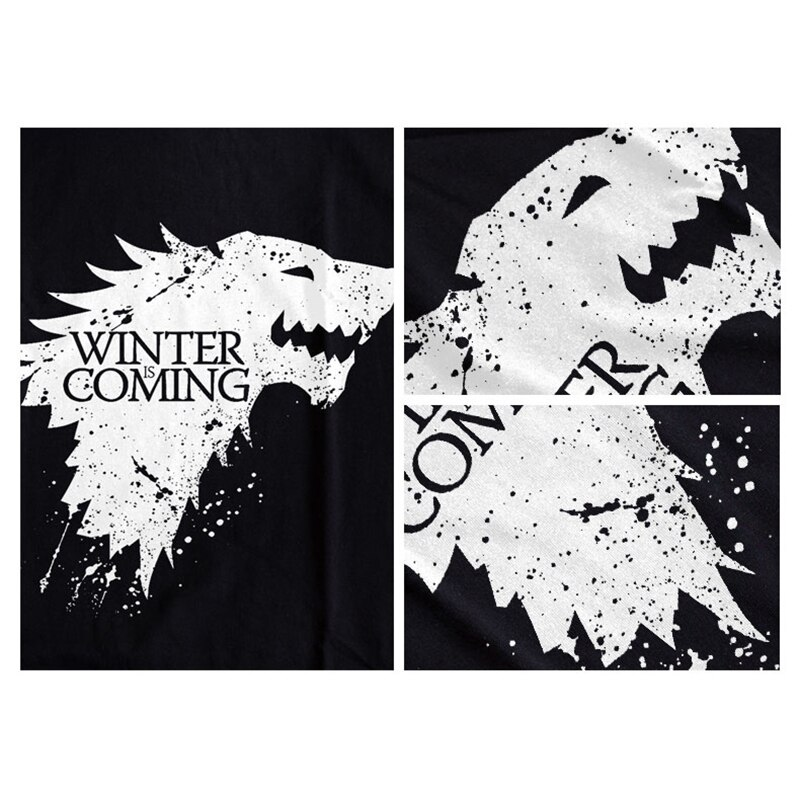 Game of Thrones T-Shirt Stark Top 2020 6