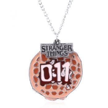 Colgante Stranger Things Alfabeto 4T 10
