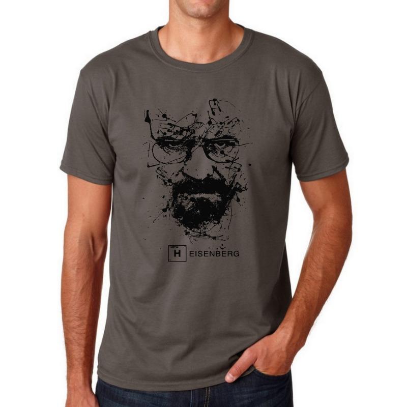 Men's Breaking Bad TV Cotton T-Shirts 1