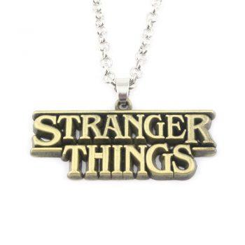 Colgante Stranger Things Alfabeto 4T 12