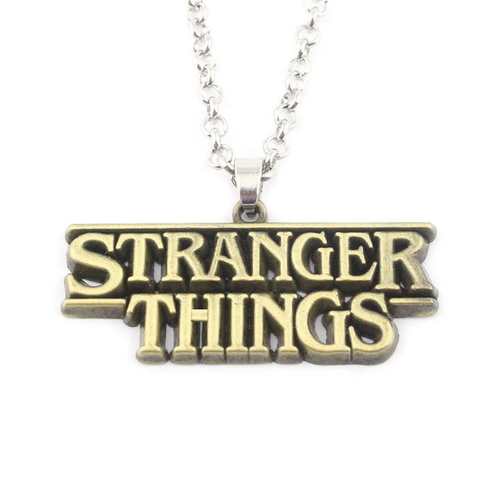 Colgante Stranger Things Alfabeto 4T 6