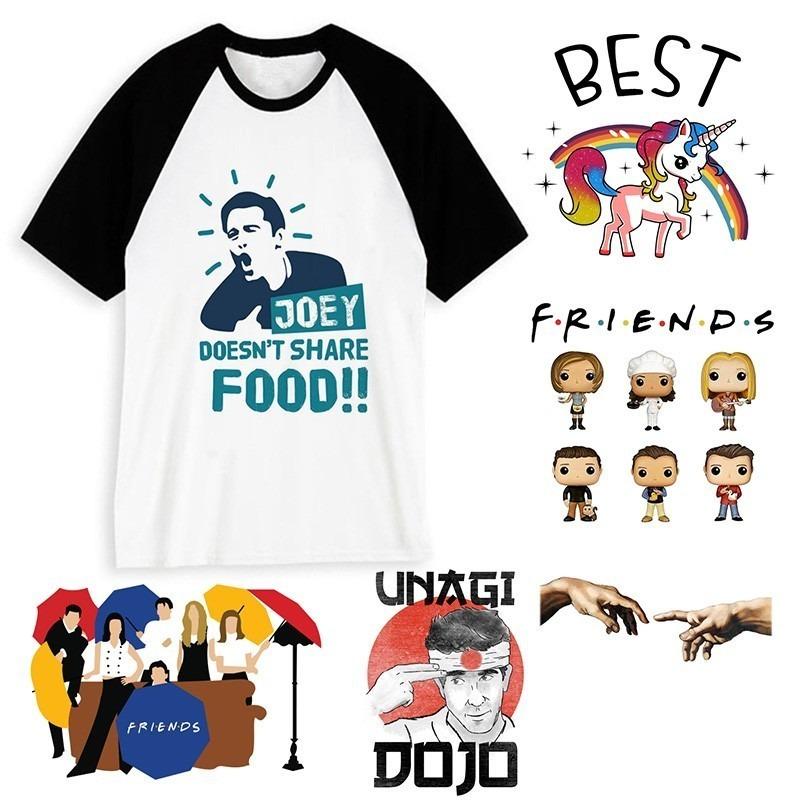 Hipster Camiseta Harajuku Friends Unisex 1
