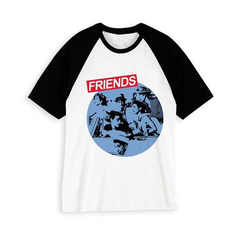 Hipster Camiseta Harajuku Friends Unisex 4