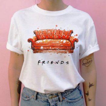 Friends camiseta hip hop 90s para Chica 9