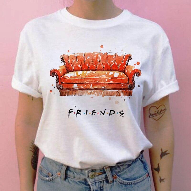 Friends camiseta hip hop 90s para Chica 4