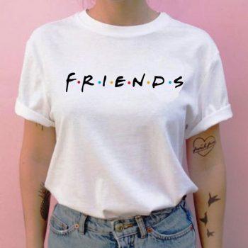 Friends camiseta hip hop 90s para Chica 10