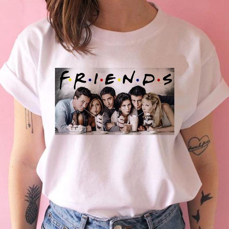 Friends camiseta hip hop 90s para Chica 1