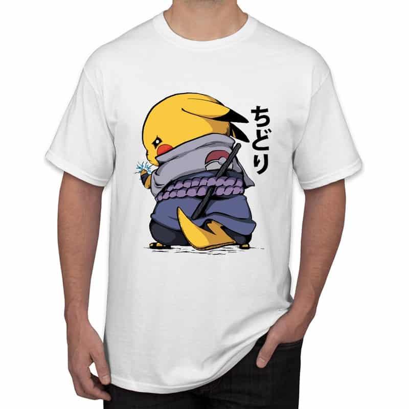 Camiseta manga corta Pikachu Samurái