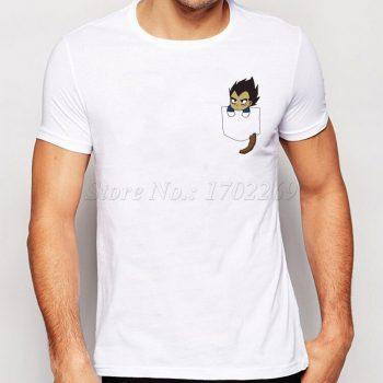 Nueva Moda Camiseta Son Goku en mi bolsillo 2 3