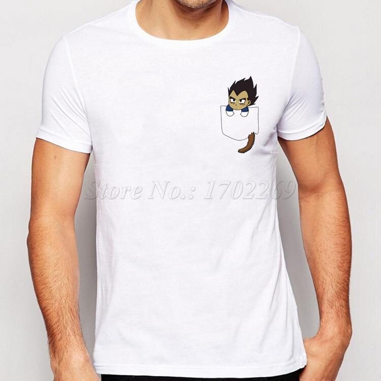 Nueva Moda Camiseta Son Goku en mi bolsillo 2 2