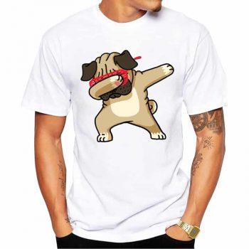 Nueva Camiseta Dabbing Pug Unicornio 6 mod. 1