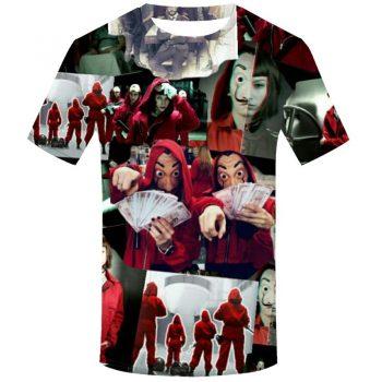 La Casa De Papel Camiseta 3D Berlín 10