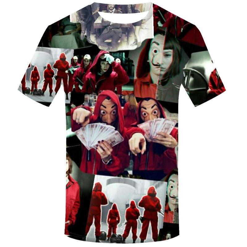 La Casa De Papel Camiseta 3D Berlín 5