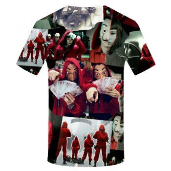 La Casa De Papel Camiseta 3D Berlín 11