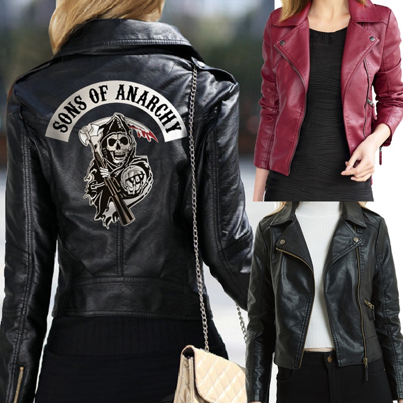 Chaqueta Sons Of Anarchy Chica 2.0 1