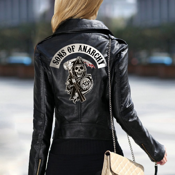 Chaqueta Sons Of Anarchy Chica 2.0 6
