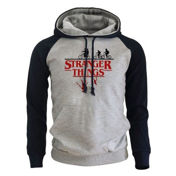 Sudadera con capucha Stranger Things Casual 2020 8