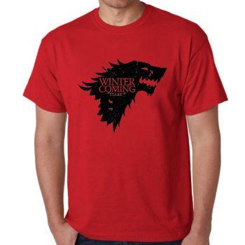 Camiseta Casual Stark Game Of Thrones 3