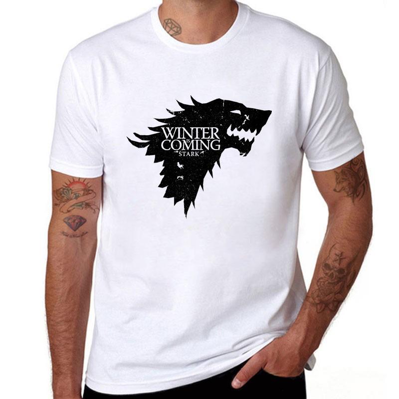 Camiseta Casual Stark Game Of Thrones