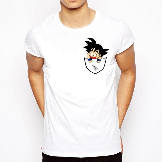 Nueva Moda Camiseta Son Goku en mi bolsillo 2 1