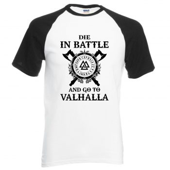 Nueva Camiseta Vikings Morir en batalla 2020 6