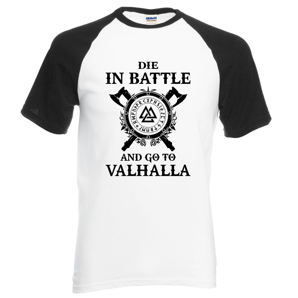 Nueva Camiseta Vikings Morir en batalla 2020 1