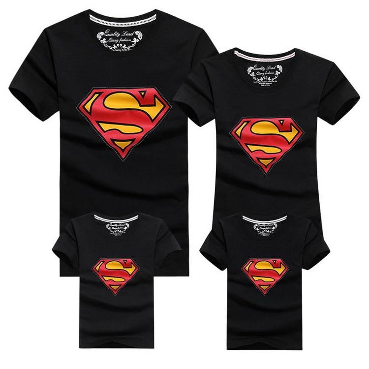 Conjunto Super Family de 4 Camisetas a Juego 1
