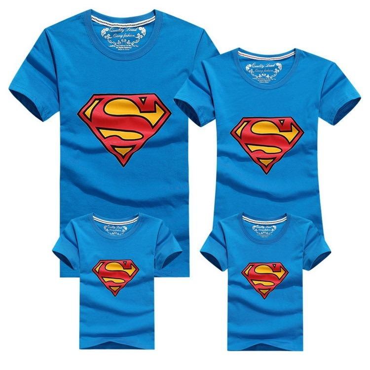 Conjunto Super Family de 4 Camisetas a Juego 3