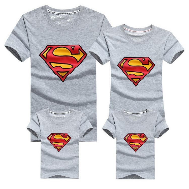 Conjunto Super Family de 4 Camisetas a Juego 6
