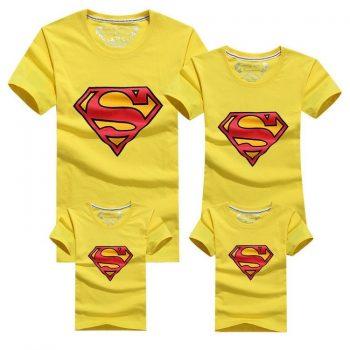 Conjunto Super Family de 4 Camisetas a Juego 11
